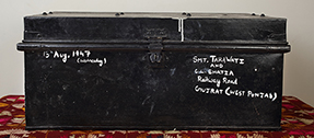 trunk of indian refugee, partition 1947