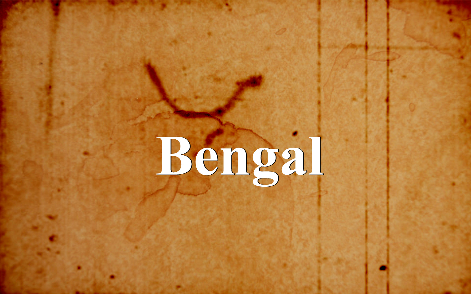 Report of the Bengal Boundary Commission
